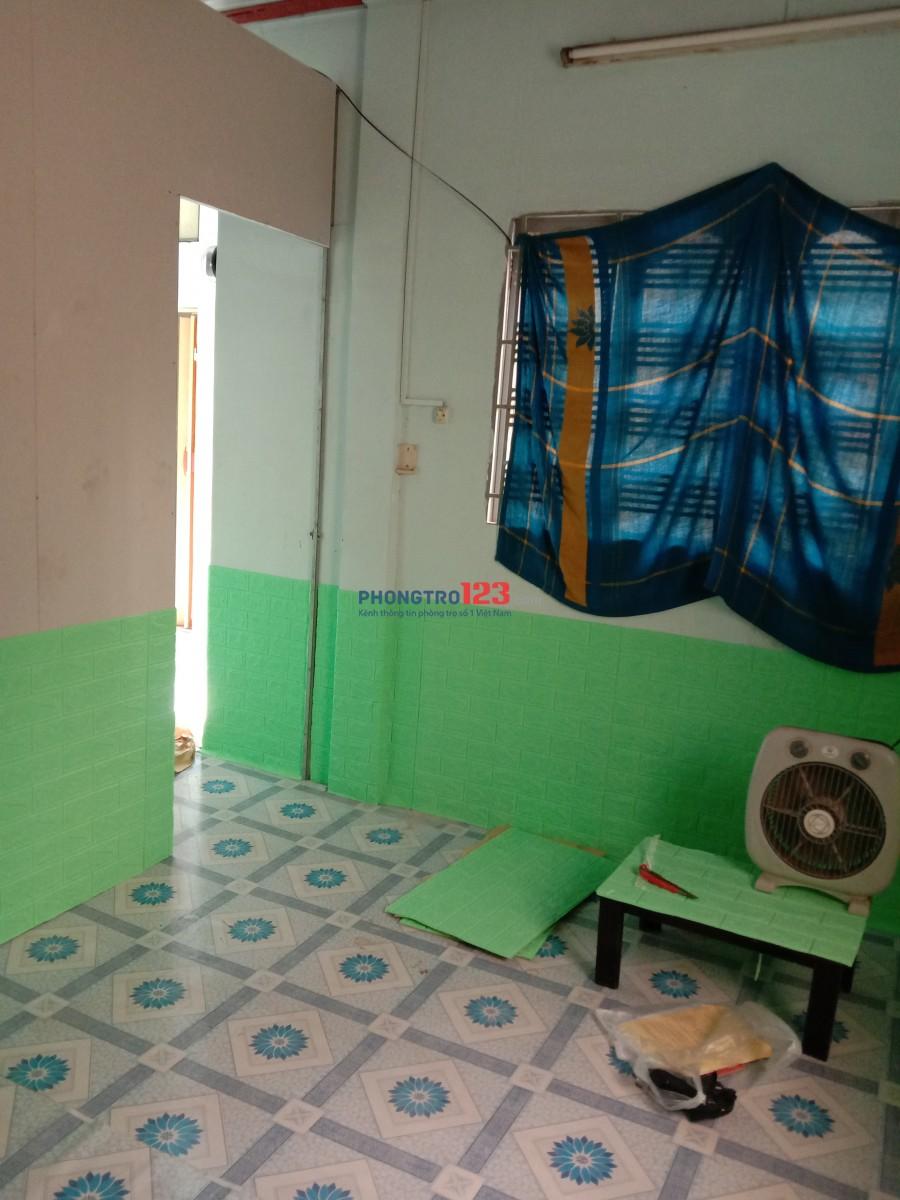 Phòng ở ghép 2 người 15m2 cửa sổ lancan, Phan Văn Trị, Nơ Trang Long, giá 1,1triệu
