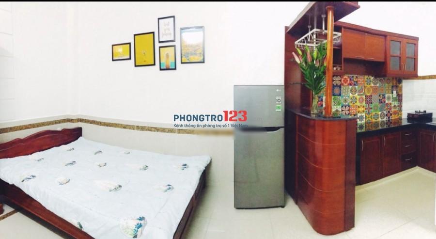 Cho thuê phòng 24m2 đầy đủ nội thất tại hẻm 170D Phan Đăng Lưu Q Phú Nhuận giá 4,5tr/tháng