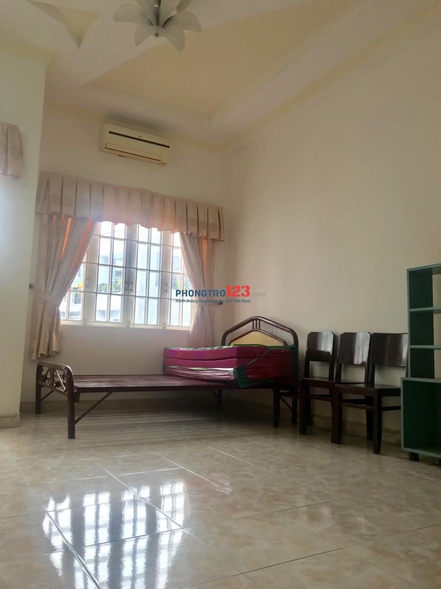 Chính chủ cho thuê phòng 40m2 đầy đủ nội thất tại Hẻm 521 CMT8 P13 Q10