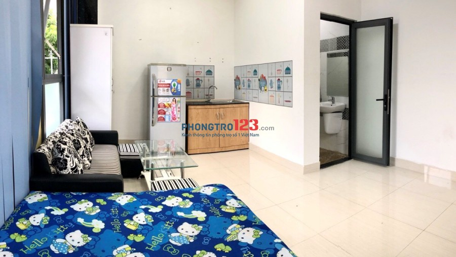 Cần cho thuê phòng trọ, căn hộ mini, giá 4.8tr full nội thất