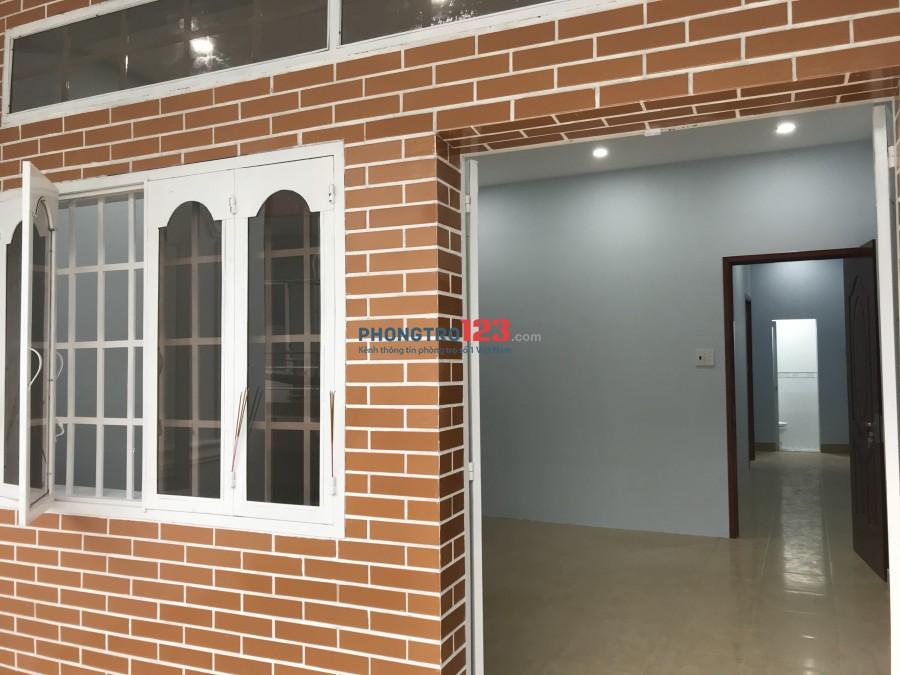 Cho thuê nhà mới xây 1 trệt 1 lầu hẻm xe hơi tại Đình Nghi Xuân Q Bình Tân giá 10,5tr/th