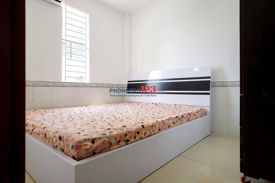 Căn Hộ mini có Tiện Nghi 40m2 1 Phòng Ngủ, 1PK, MT Trường Chinh, Q. Tân Phú (Giảm 600k/tháng cho KH suốt HĐ)
