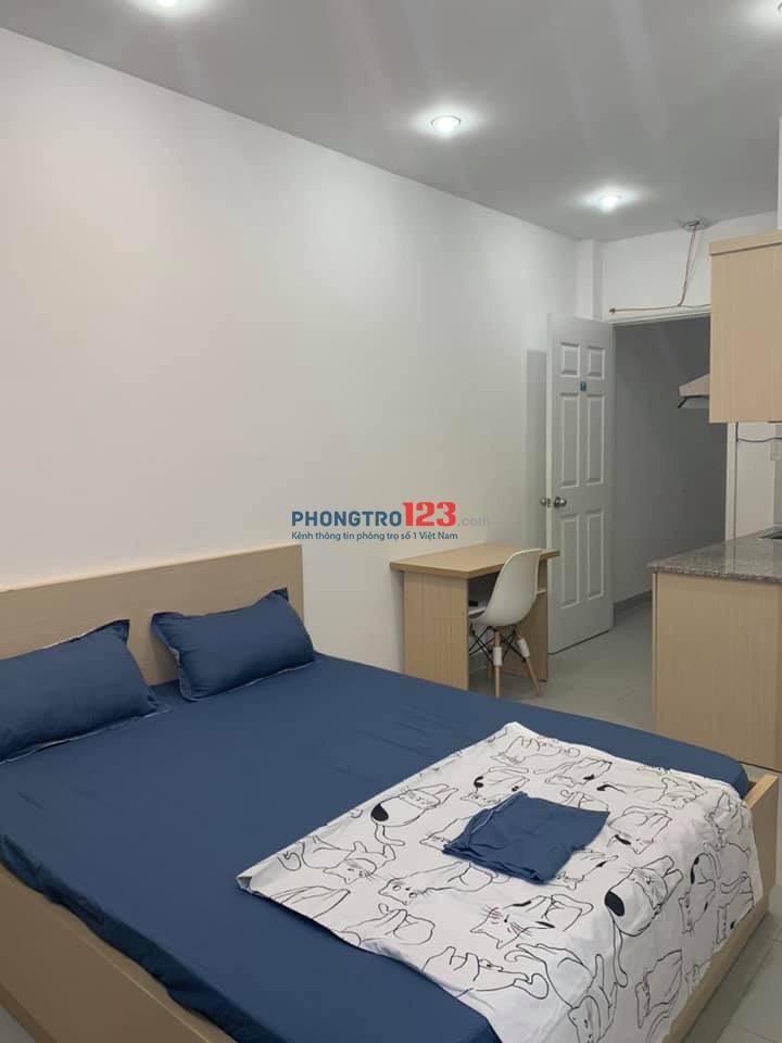 Cho thuê căn hộ dịch vụ Sân bay Phú Nhuận Q3 Tân Bình (có ban công)