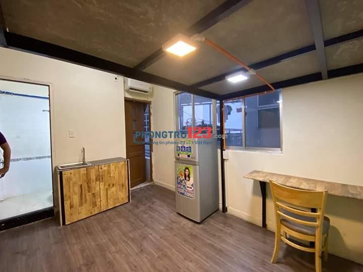 Phòng cho thuê 25m2. Full nội thất cơ bản, khu vực an ninh, giờ giấc tự do