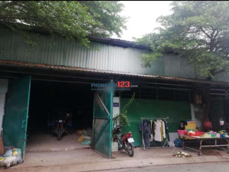 Cho thuê kho xưởng 330m2 đường xe tải tại Đường liên ấp 2-3, Đa Phước, Bình Chánh