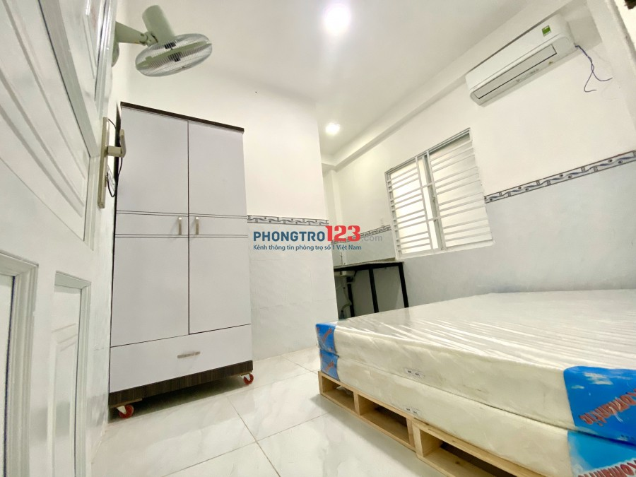 Cho thuê nhà trọ, Tân Bình, full nội thất, giá 3.8tr, còn nhiều phòng khác...