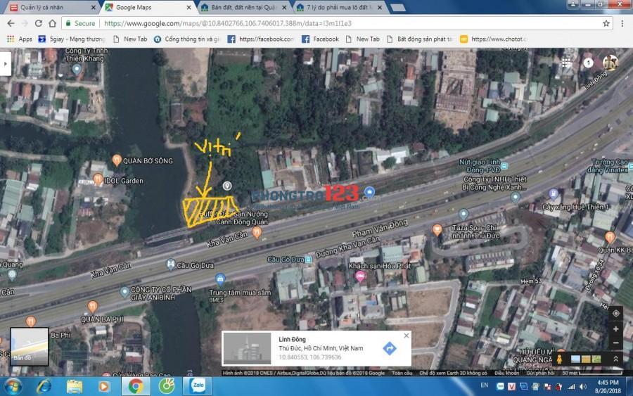 Cho thuê nhà xưỡng 1500m2, ngay cầu Gò Dưa, Linh Đông, Thủ Đức.