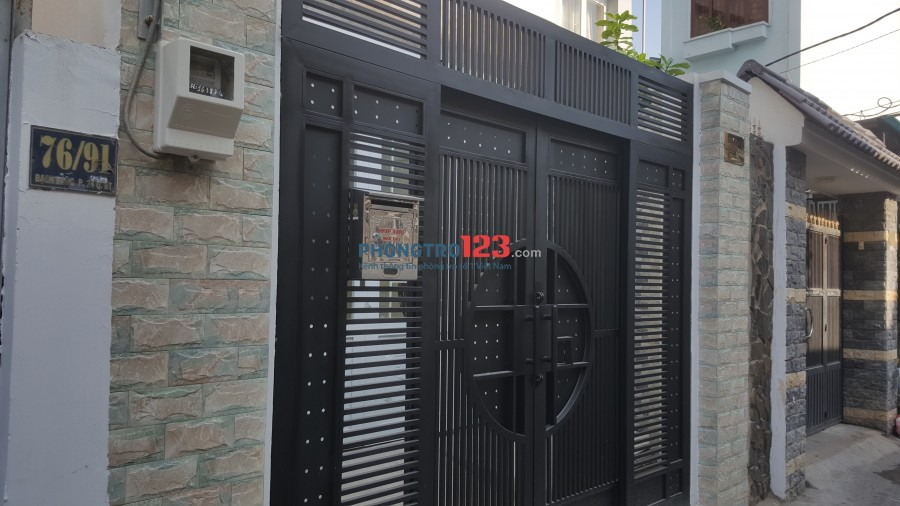 Cho thuê phòng trọ tại quận Bình Thạnh diện tích phòng 18m2. Liên hệ Vinh 0934014588