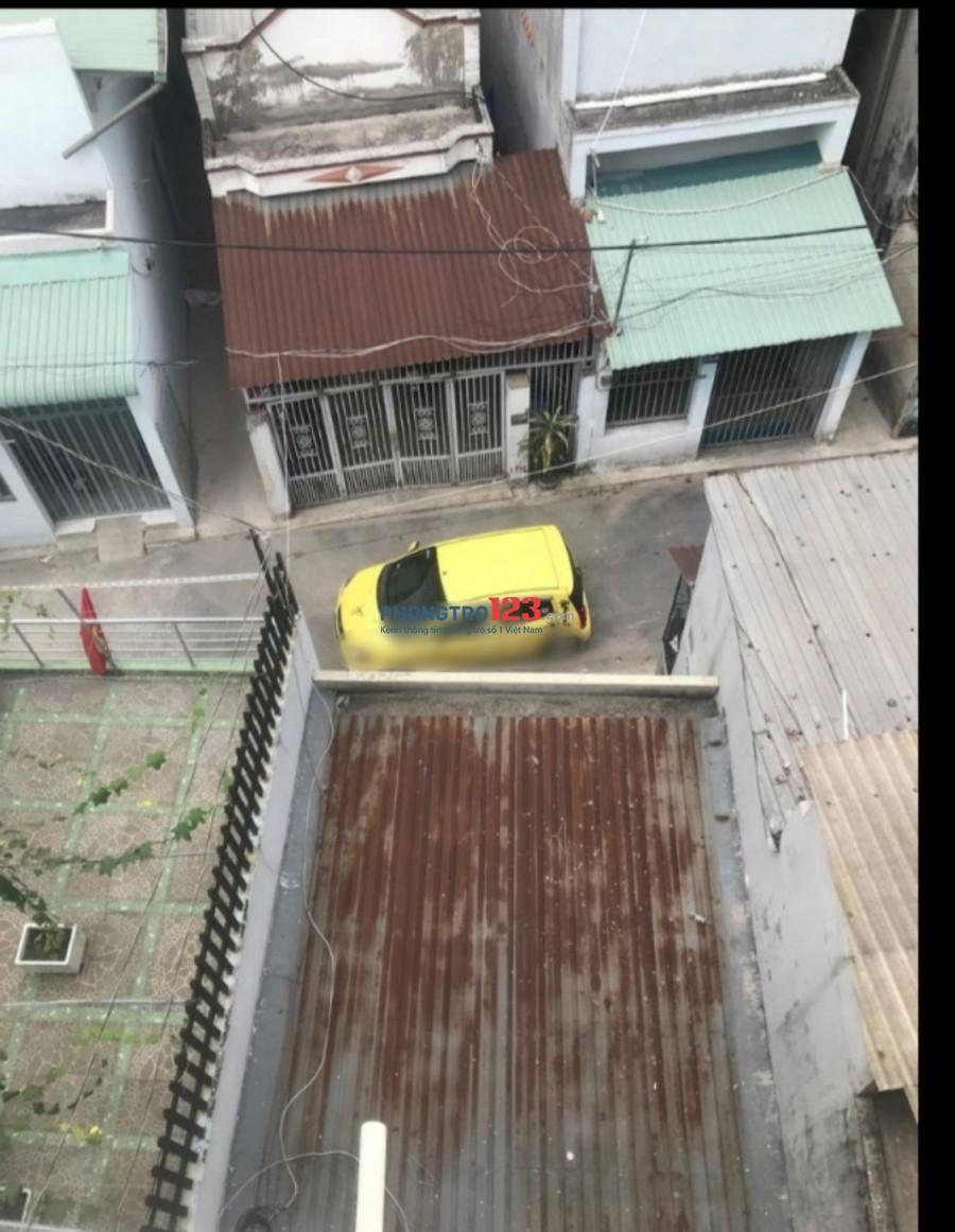 Cho thuê nhà nguyên căn 3 lầu 4pn hẻm xe hơi tại hẻm 345 Nguyễn Thị Búp, Q.12. Giá 8.5tr/tháng