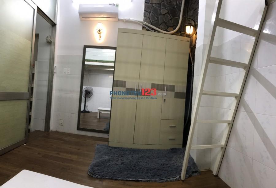 Phòng có gác, Sàn Gỗ FULL nội thất, Giờ giấc tự do tại Quang Trung, Gò Vấp