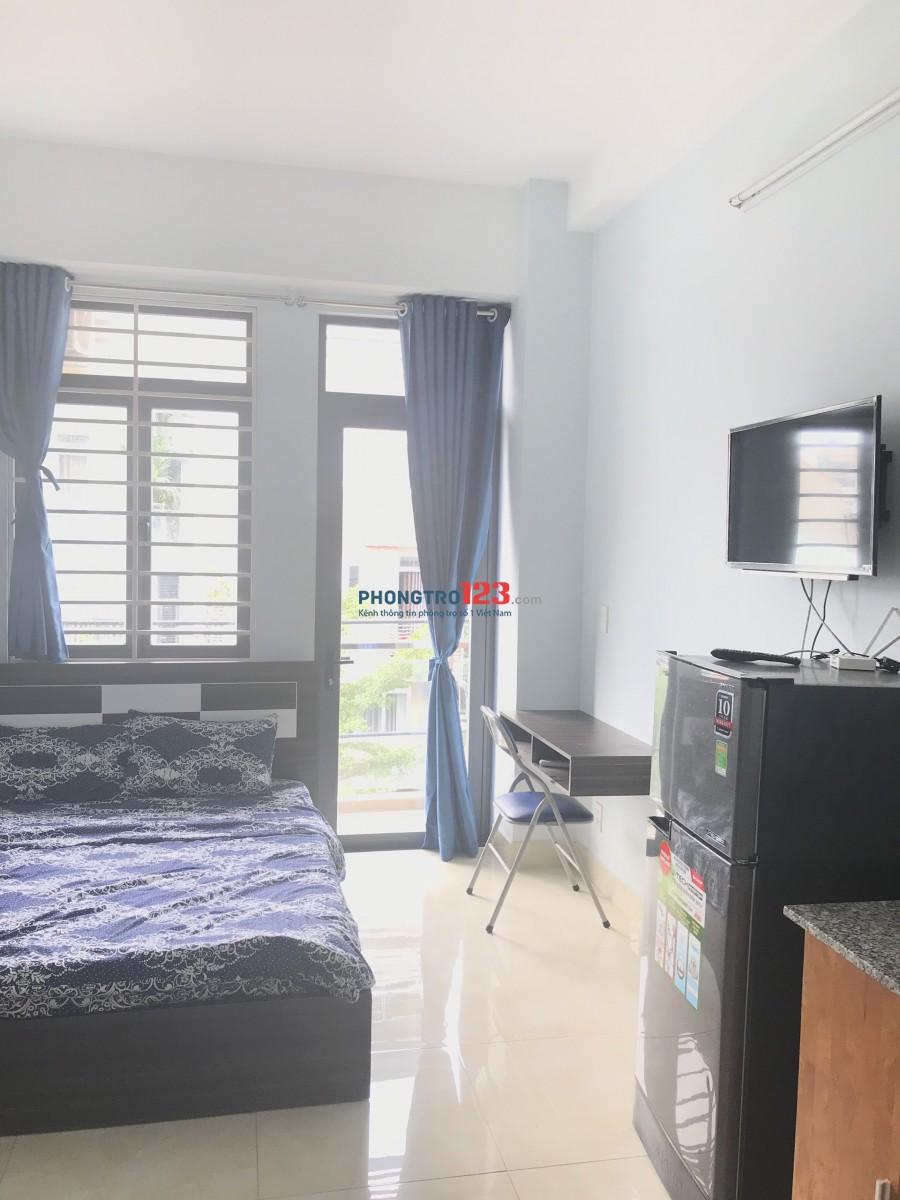 Cho thuê phòng full nội thất đường Nguyễn Hữu Cảnh đối diện Landmark 81 giá chỉ 4tr9/phòng