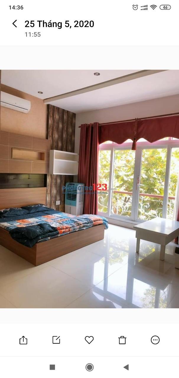 Cho thuê căn hộ mới xây 40m2 gần Phan Đăng Lưu Full nội thất