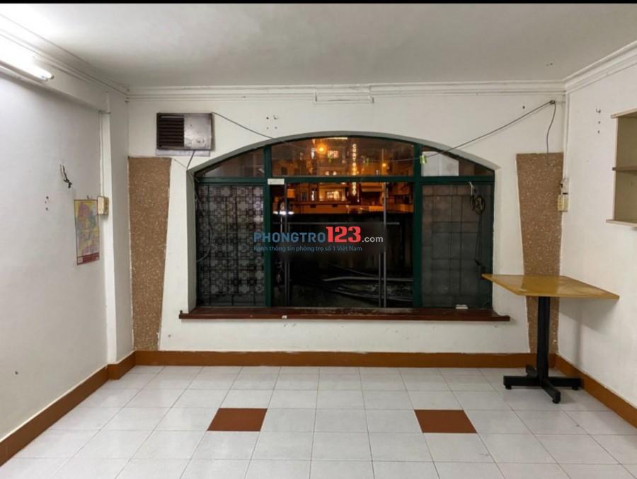 Cho thuê phòng 30m2 tầng trệt chung cư Sư Vạn Hạnh Đối diện BV 30/4 P.9, Q.5. Giá 4.2tr/th
