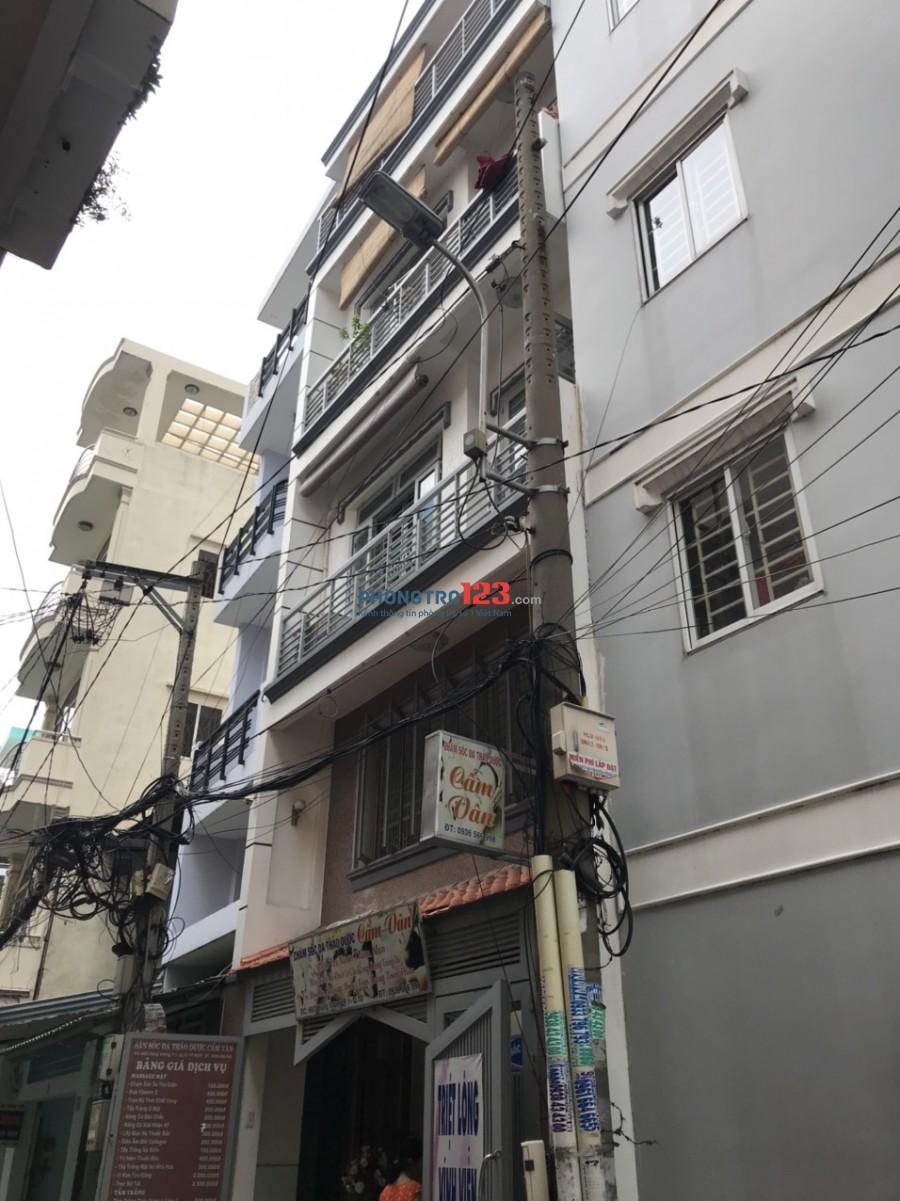 Cho thuê phòng đầy đủ tiện nghi nhà hẻm xe hơi tại 66/2 Hùng Vương P1 Q10 giá từ 3tr/th