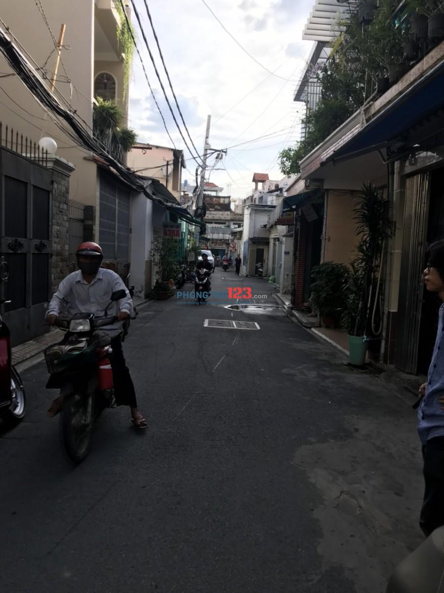 Cho thuê mặt bằng 5x8 đường xe hơi tại 440/4B Nguyễn Kiệm, P.3, Q.Phú Nhuận. Giá 5.5tr/th