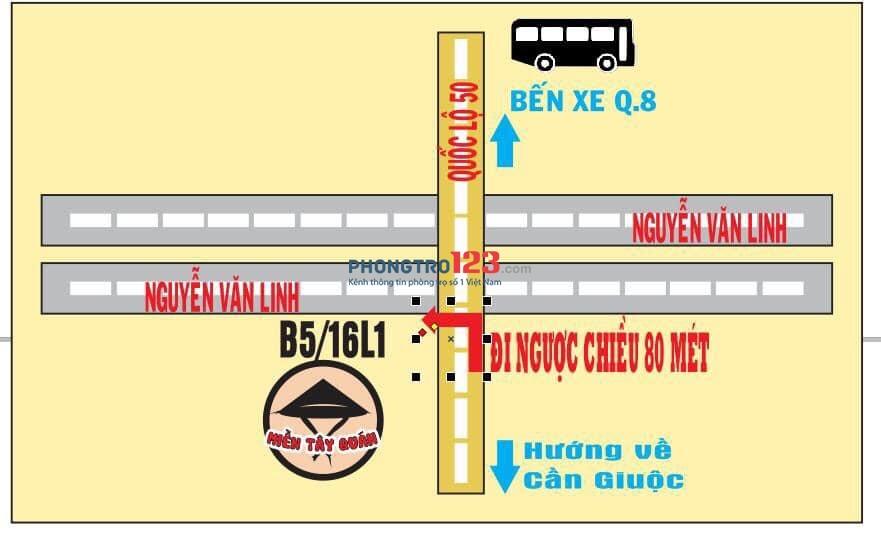 Cho thuê hoặc sang quán Ăn Sân Vườn 700m2 mặt tiền Nguyễn Văn Linh, Huyện Bình Chánh