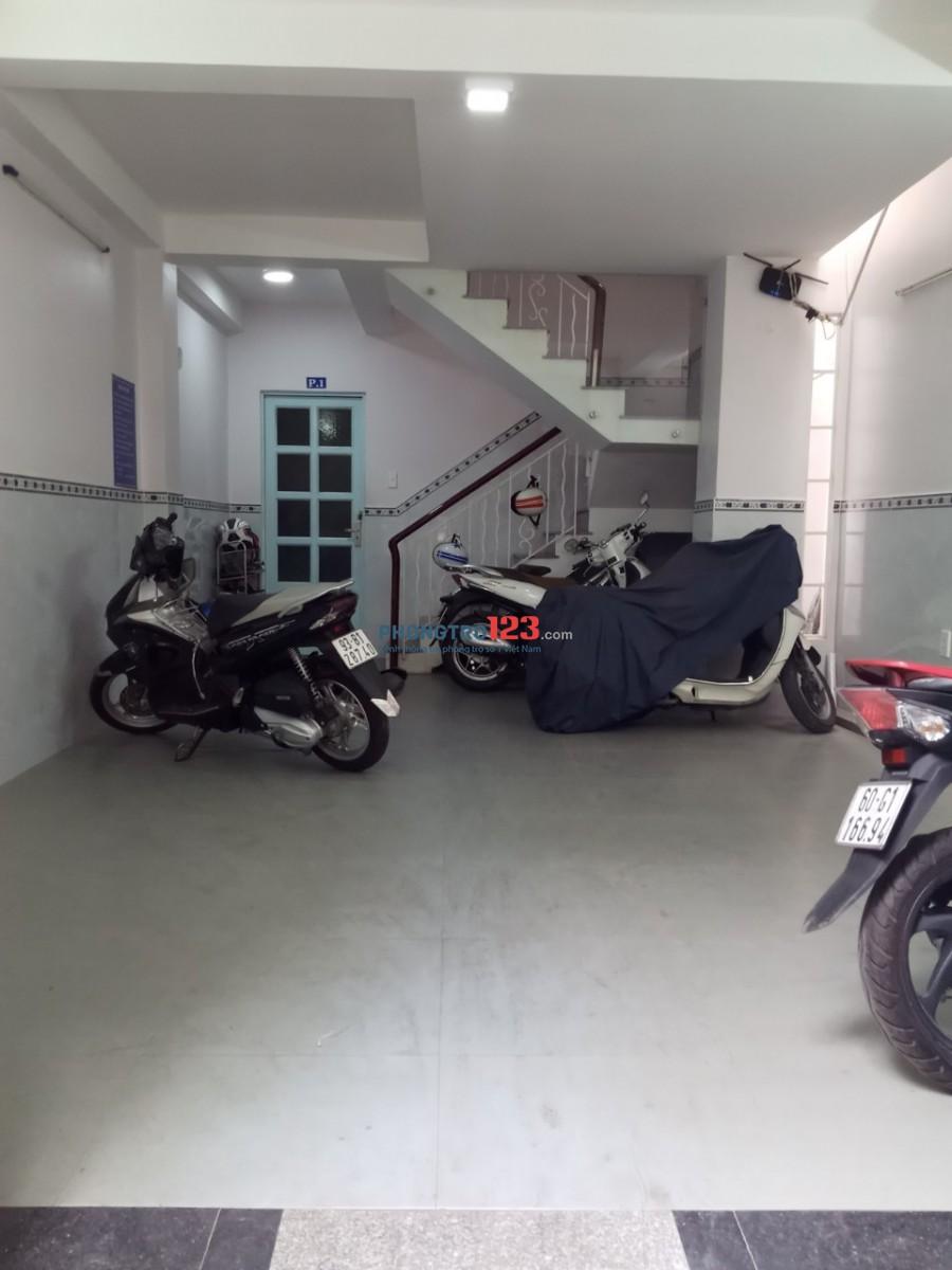 Cho thuê phòng mới 25m2 nhà hẻm xe hơi tại Hẻm 23 Nguyễn Hữu Tiến, Q.Tân Phú. Giá 3.8tr/th