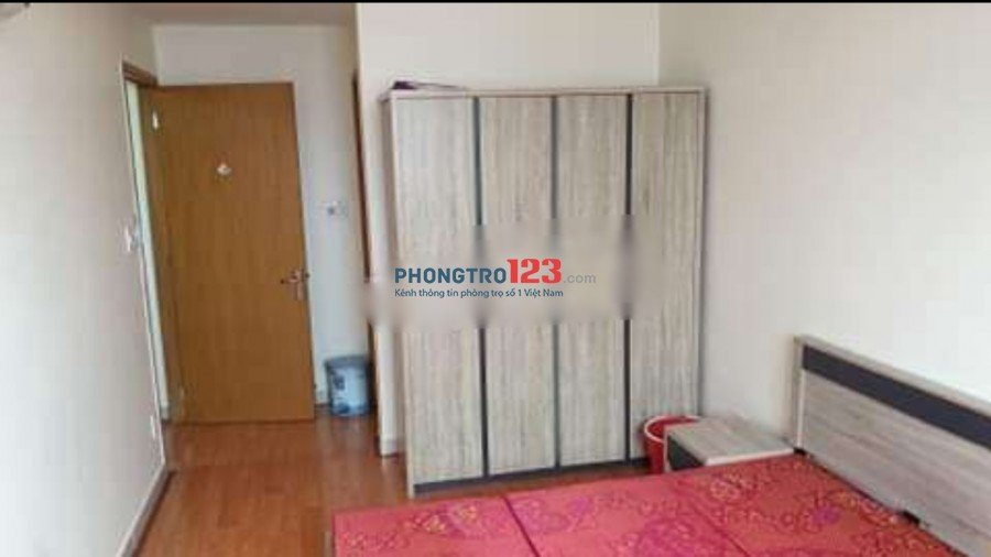 Chính chủ cho thuê căn hộ đầy đủ nội thất chung cư Bình Quới 1 70m2 2PN giá 12tr/tháng