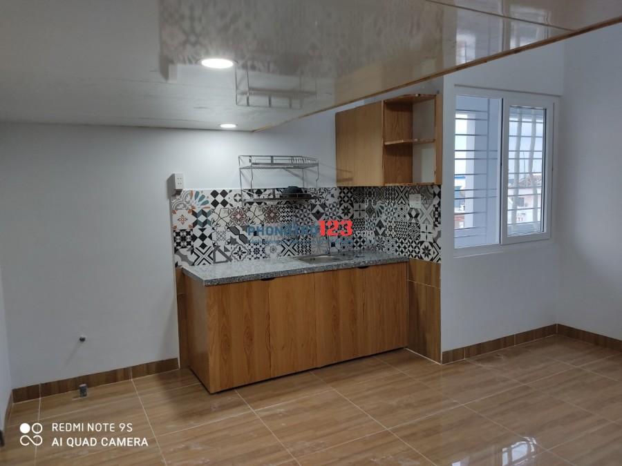 Phòng trọ cao cấp đầy đủ tiện nghi có gác, ban công mới xây 100% ngay Chợ Tân Hương - Tân Phú