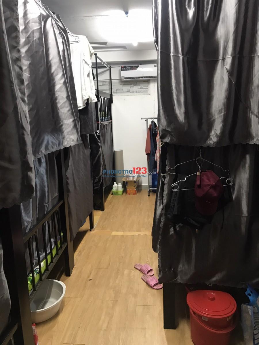 Cho thuê phòng KTX đầy đủ tiện nghi cao cấp tại 185 Hoa Lan P2 Q Phú Nhuận giá 1,4tr/th
