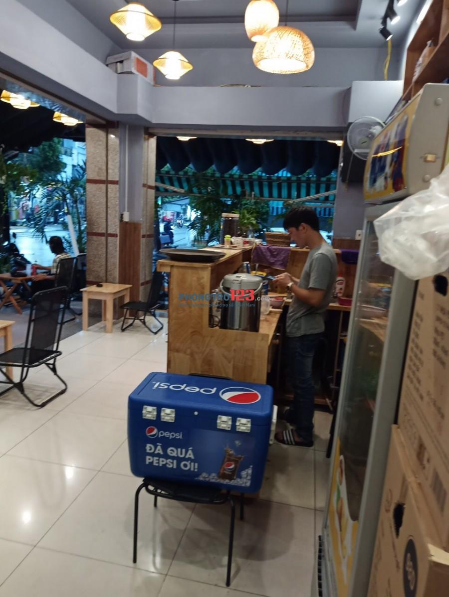 Cho thuê Quán Cafe Ngay Góc 2 mặt tiền 169A Trương Vĩnh Ký P Tân Thành Tân Phú giá 14tr/th