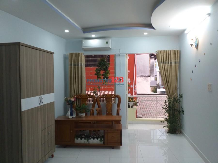 Cho thuê phòng Full nội thất cao cấp tại 170/2 Nguyễn Văn Đậu P7 Q Bình Thạnh giá 5,5tr/th