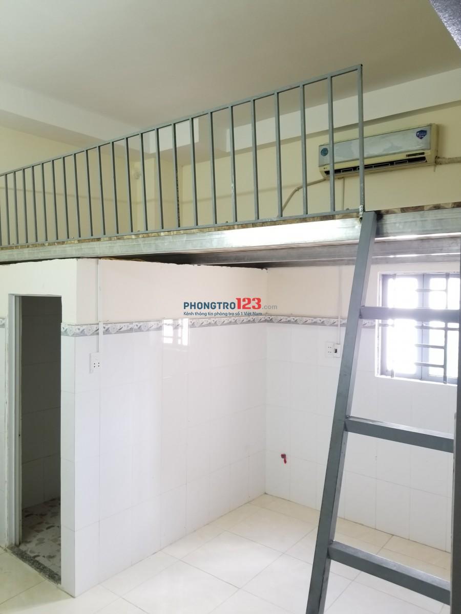 Phòng 20m2-2,9tr, có gác lửng, máy lạnh, ban công , cửa sổ, ngay trung tâm Quận Gò Vấp