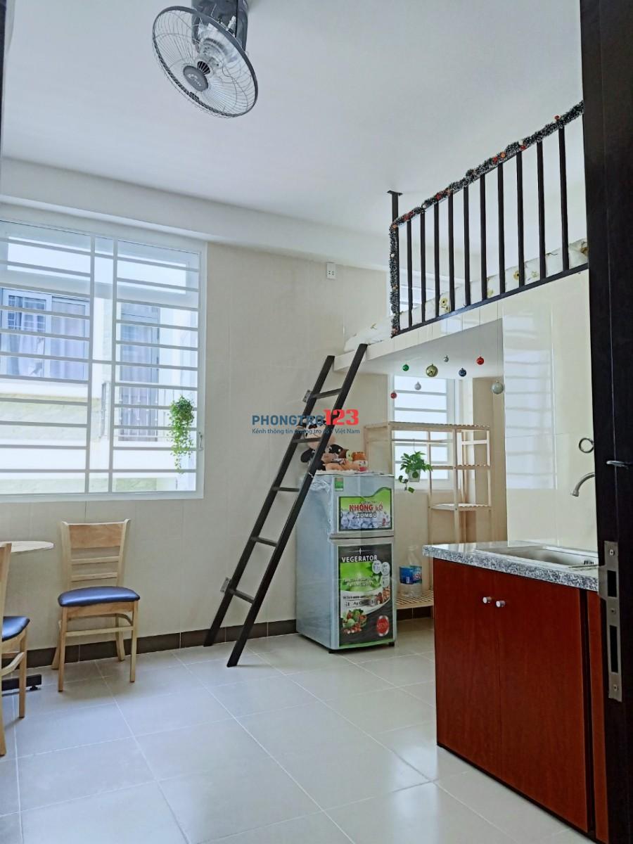 NHÀ MỚI XÂY. Phòng full nội thất cho thuê Q1