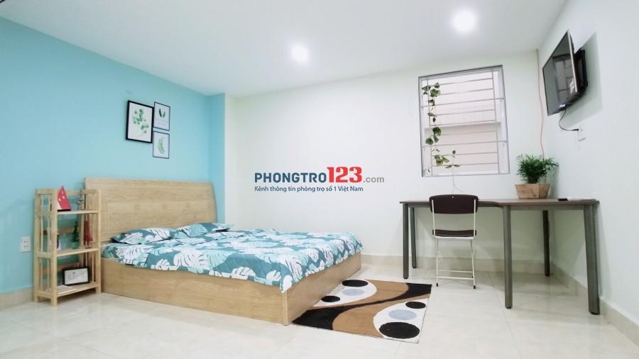 Phòng đầy đủ tiện nghi ngay CV lê thị riêng đường Bành Văn Trân giờ giấc tự do giá từ 4tr 20m2
