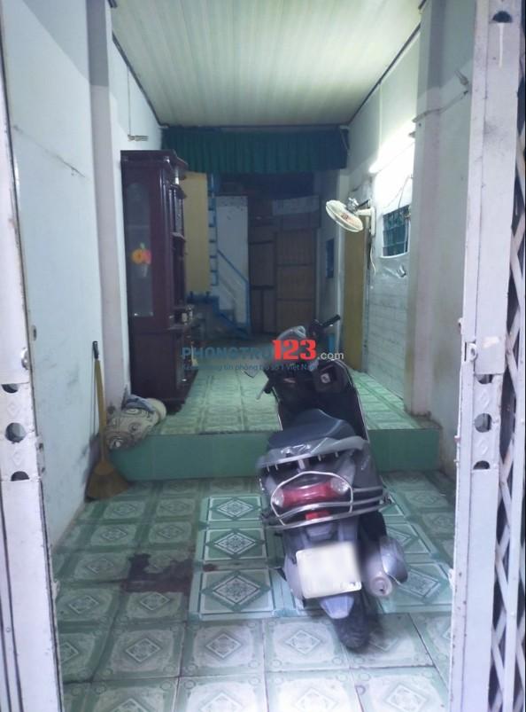 Cho thuê nhà nguyên căn 1 trệt 1 lầu 50m2 tại Bùi Hữu Nghĩa P1 Q Bình Thạnh giá 6tr/th
