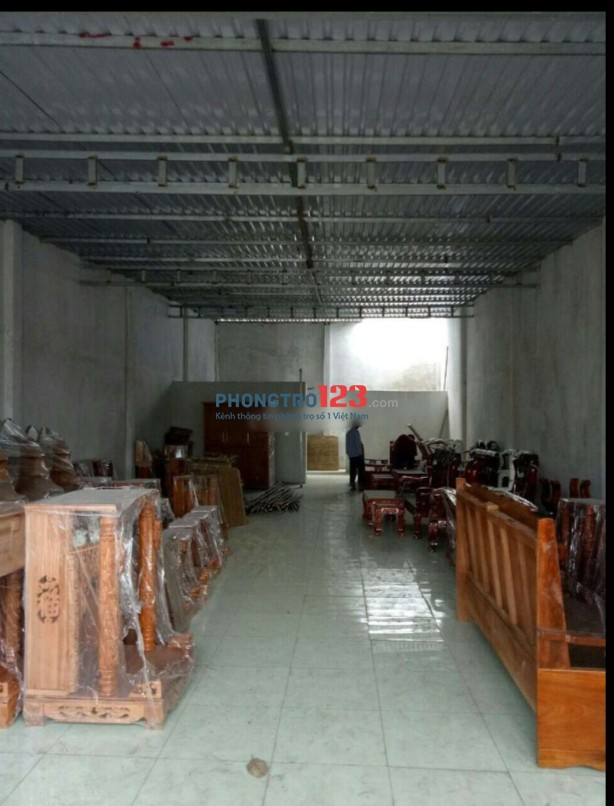 Chính chủ cho thuê kho xưởng 8x20 đường xe tải tại Tô Ký Xã Trung Chánh Hóc Môn giá 10tr/th