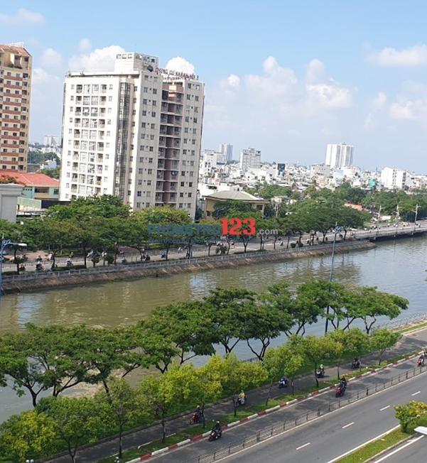 Chính chủ cho thuê văn phòng nhà mặt tiền mới xây Đường Võ Văn Kiệt P Cầu Kho Q1