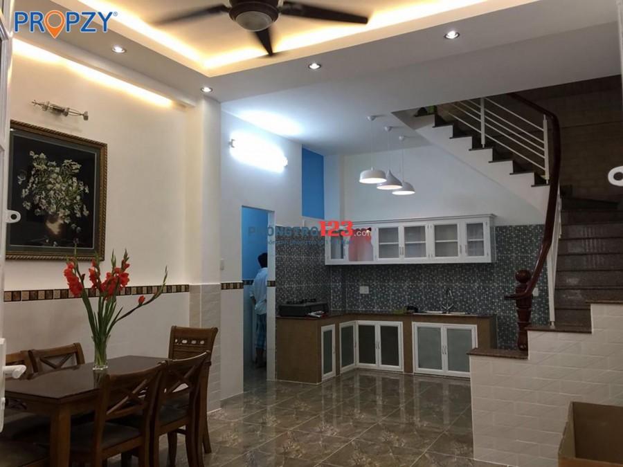 Thuê nhà 4 tầng Điện Biên Phủ Q3 Full nội thất 3 PN 19 triệu