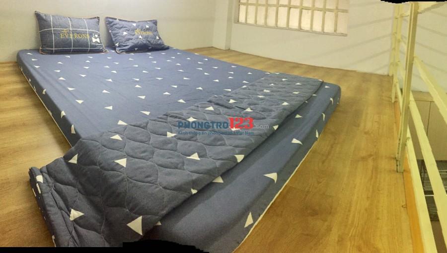Phòng có gác - có giường -full nội thất Tân Bình