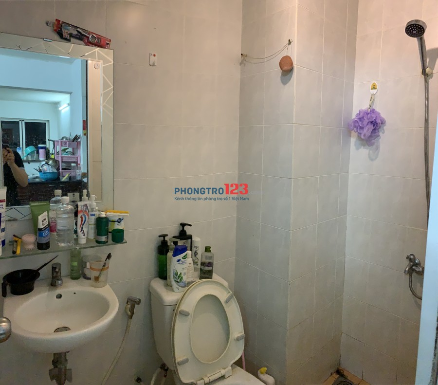Cho thuê phòng trong Chung cư Bàu Cát 2 - Tân Bình