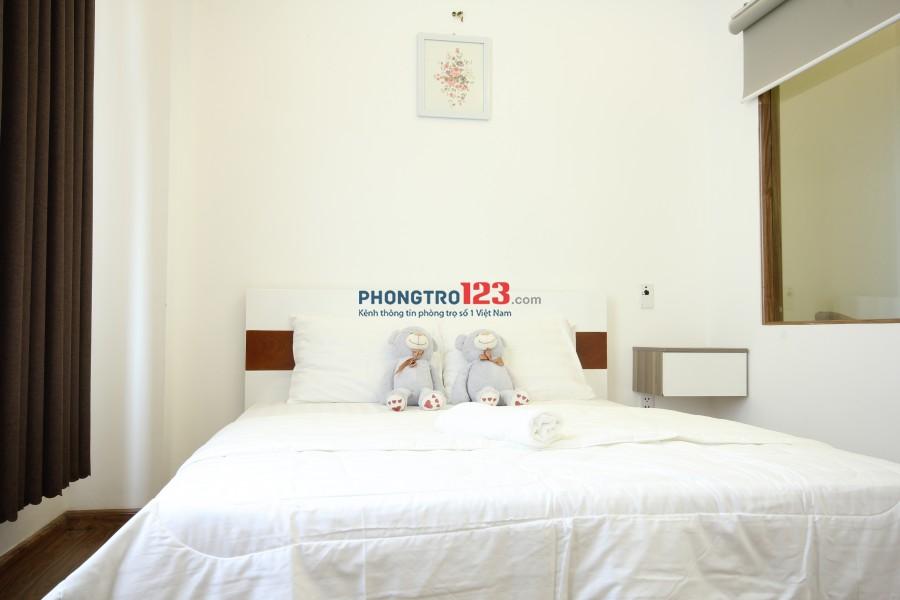 Căn hộ dịch vụ 1 phòng ngủ 40m2 tại chi nhánh Smiley Apartment 7 tại số 214 / B15D đường Nguyễn Trãi, quận 1 (Đang trống