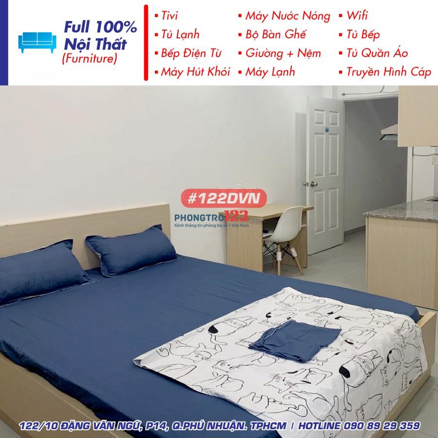 Phòng trọ ban công 28m² - full nội thất - Quận Phú Nhuận
