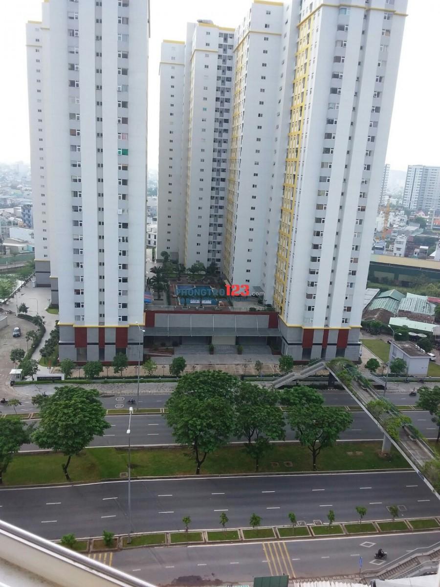 Căn hộ mặt tiền Võ Văn Kiệt, 2PN, 2WC, 92m2, full nội thất, 10 phút tới Q1,5,10