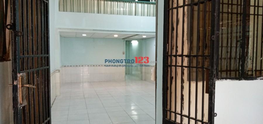 Cho thuê nhà nguyên căn 64m2 HXH gần chợ Cầu Đỏ Quận Bình Thạnh