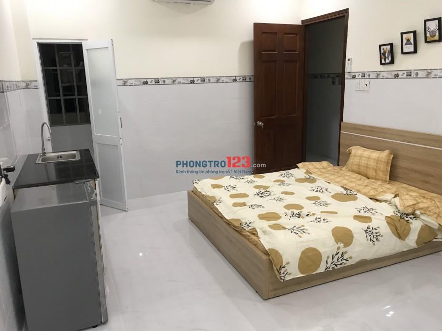 Cho thuê phòng mới xây đầy đủ nội thất ngay trung tâm Nguyễn Xí Q Bình Thạnh giá 4,5tr/th