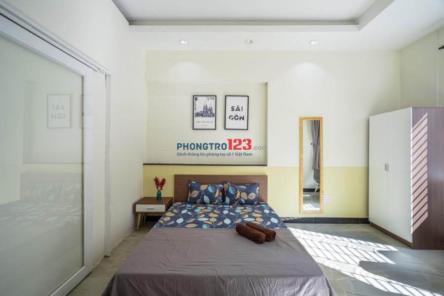 Cho thuê phòng cao cấp full nội thất Đ/C 17 Nguyễn Công Hoan Phú Nhuận, Giá mùa dịch: 5tr/ tháng
