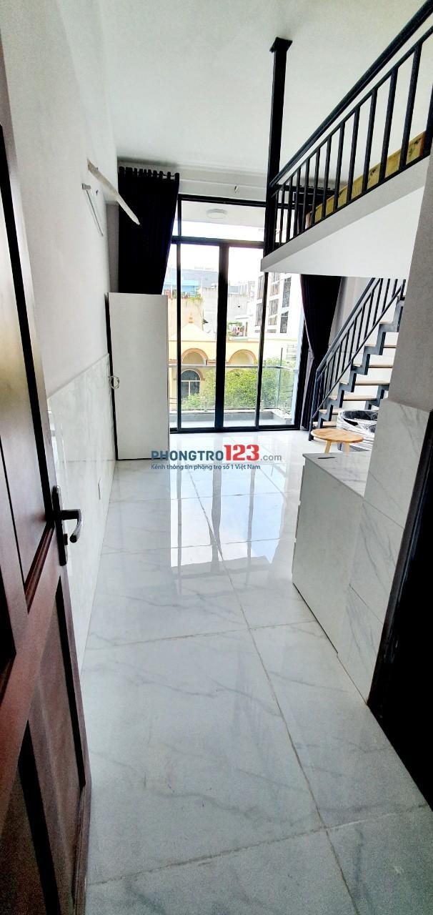 Cho thuê căn hộ dịch vụ tiện nghi, có gác mới 100%, Ngay Etown Cộng Hòa Tân Bình