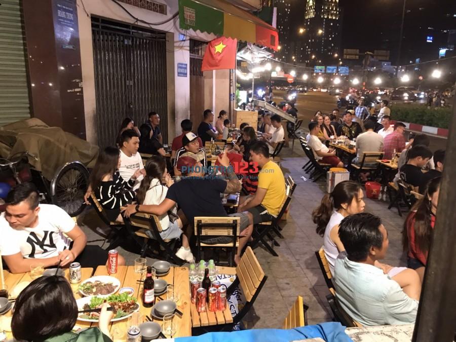 Chính chủ sang lại quán nhậu mặt tiền 160 Võ Văn Kiệt Q1 LH Mr Lễ 0865925290