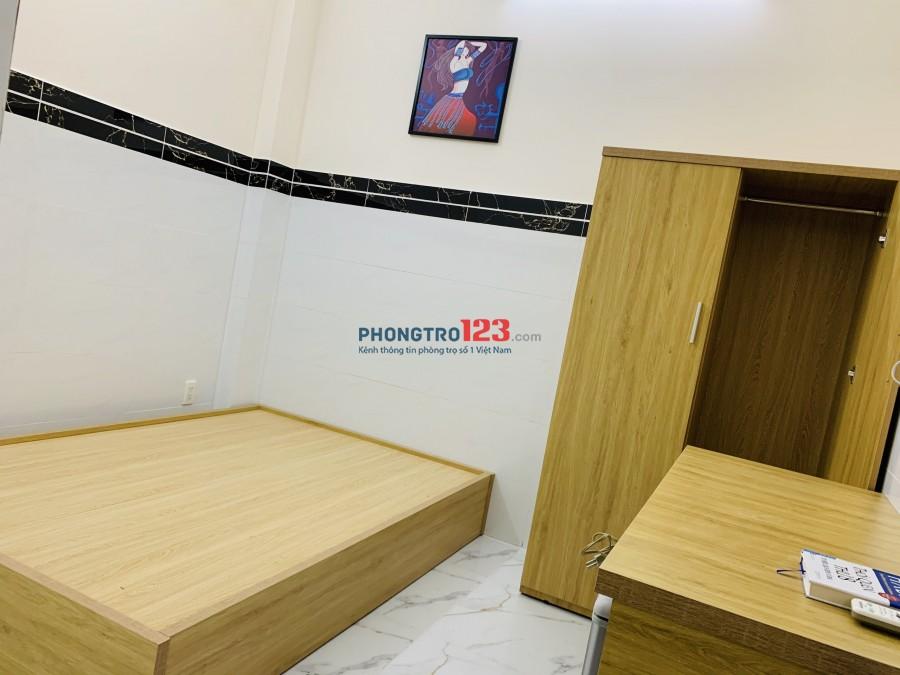 Phòng trọ cao cấp mới xây 100%, đầy đủ nội thất Âu Cơ, giá siêu rẻ mùa dịch..!!!