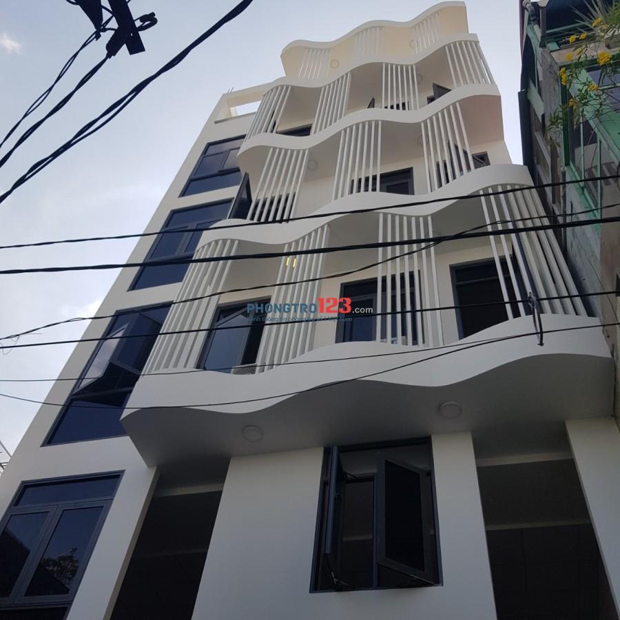 Phòng trọ cao cấp 22m2 đầy đủ nội thất, vừa mới xây (trong tòa nhà 6 tầng)