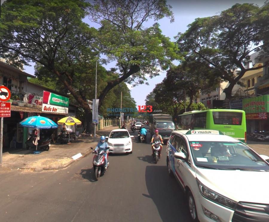 Nhà cho thuê mặt tiền đường Thành Thái q.10 diện tích 4mx15m giá 45 triệu