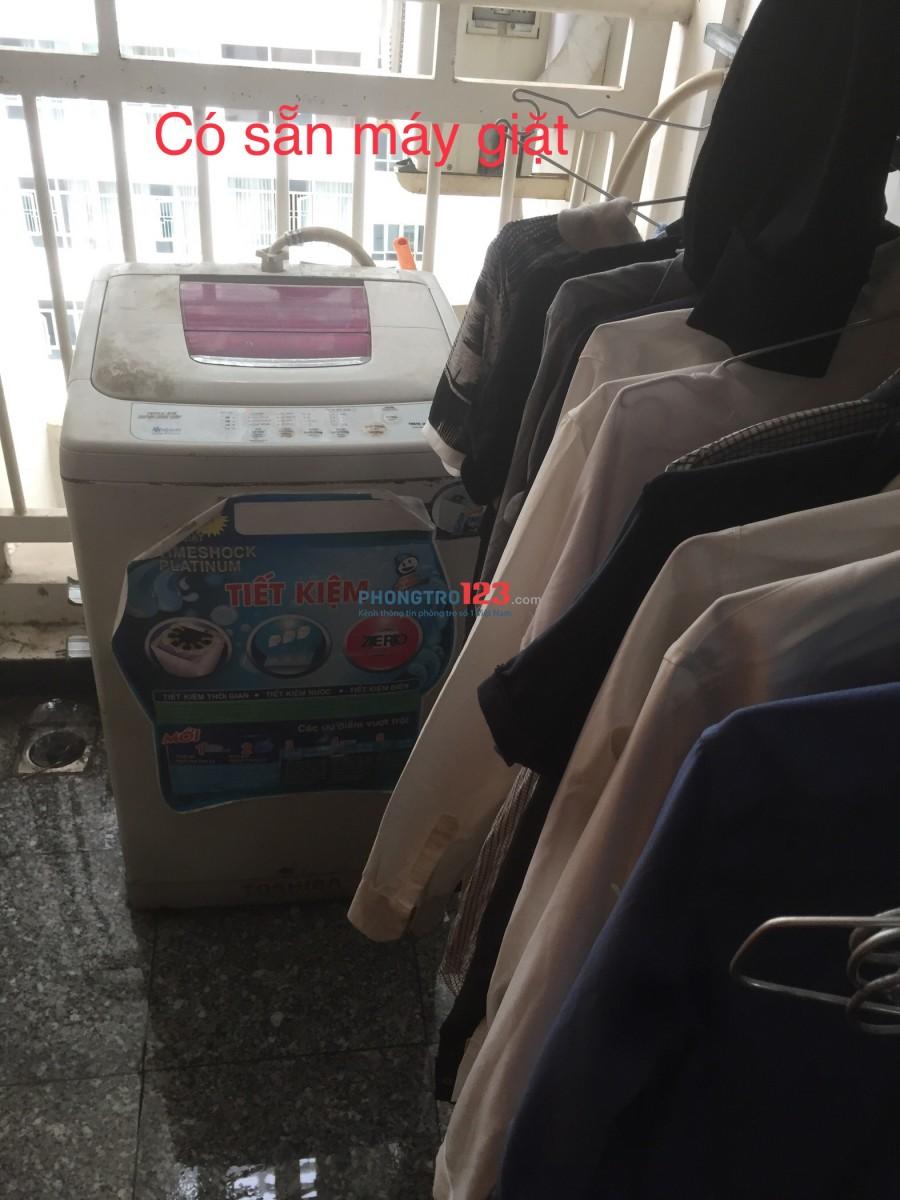 Share phòng căn hộ cho Nam giá 2350/tháng đã bao gồm điện, nước, wifi, gửi xe