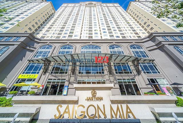 Giá rẻ bất ngờ thuê căn hộ Saigon Mia Full nội thất