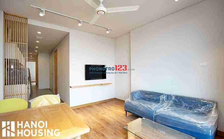 Cho thuê căn hộ 2 phòng ngủ thoáng mát, đẹp và tiện lợi ở Hồ Ba mẫu