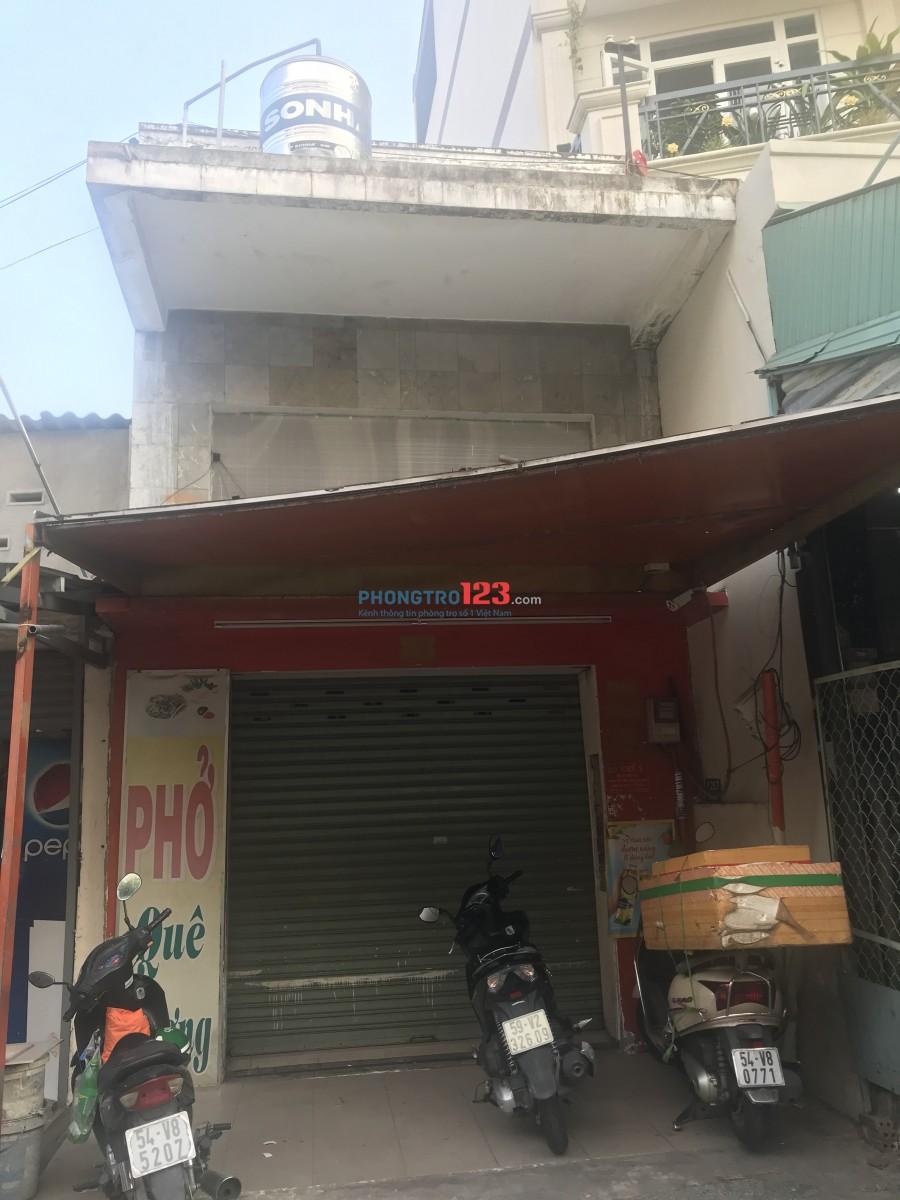 Nhà cho thuê nguyên căn mặt tiền Phan Văn Trị, quận Gò Vấp.